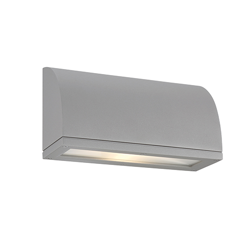 Wac Lighting Scoop Graphite One Light Led Outdoor Wall Sconce Ws