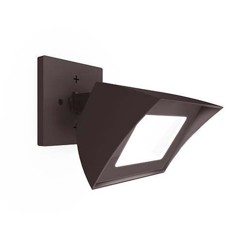 Endurance Hawk Architectural Bronze One-Light LED Flood Light