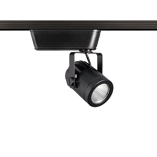 WAC Lighting Precision Black LED Low Voltage Flood Beam J-Track Head, 3000K, 90 CRI