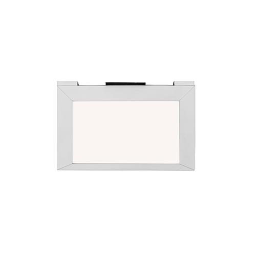 WAC Lighting Line White 6-Inch LED Undercabinet Light, 2700K