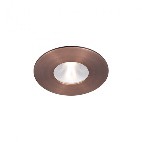 WAC Lighting Tesla Copper Bronze 2-Inch Pro LED Trim with 55 Degree Beam, 3500K