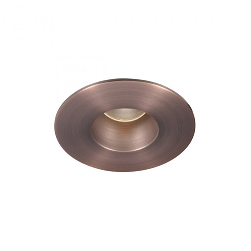 WAC Lighting Tesla Copper Bronze 2-Inch Pro LED Trim with 40 Degree Beam, 2700K