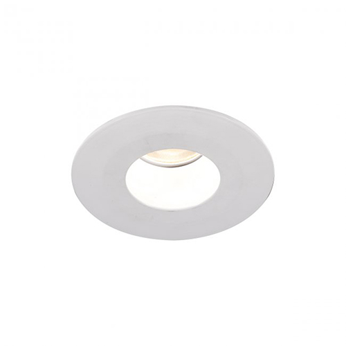 WAC Lighting Tesla White 2-Inch Pro LED Shower Trim with 27 Degree Beam, 2700K