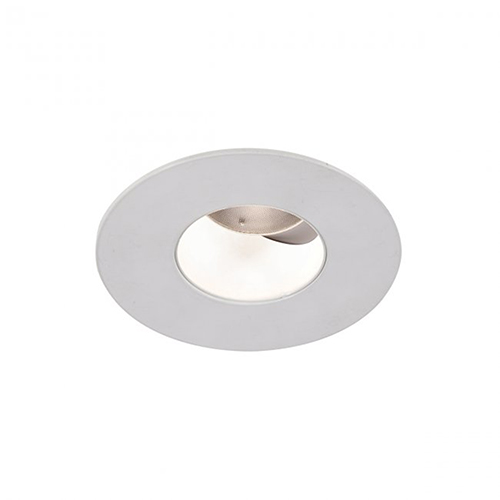 WAC Lighting Tesla White 2-Inch Pro LED 0-30 Degree Adjustable Trim with 40 Degree Beam, 4000K