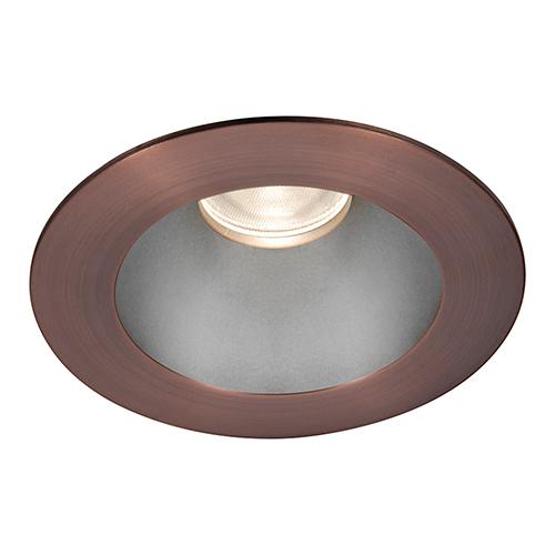 Tesla Haze Copper Bronze 3.5-Inch Pro LED Trim with 55 Degree Beam, 3000K