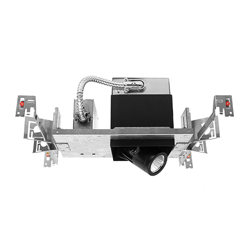 WAC Lighting Precision Multiples 1x1-Light LED Housing, Dimming Flood Beam, 4000K