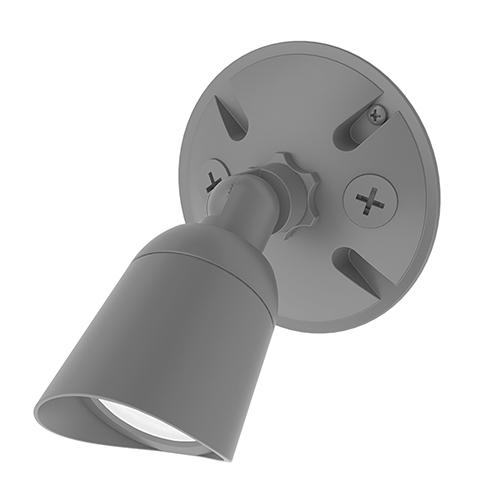 Endurance Single Spot Graphite Energy Star LED Flood Light Warm White