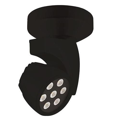 WAC Lighting Reflex Black Energy Star LED Spot Light Spot Beam Spread with 3000K Soft White