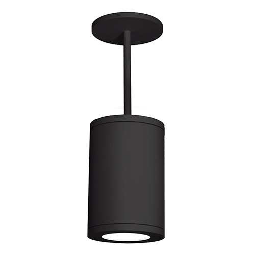 Tube Architectural  Black 8-Inch LED Pendant with 3000K 90 CRI 27 Beam