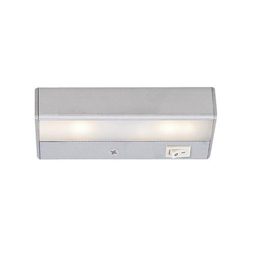 LEDme Satin Nickel 8-Inch 120V Light Bar 2700K Warm White