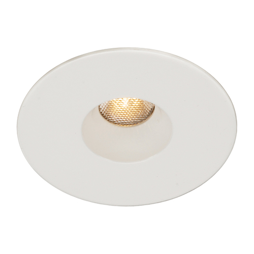 LEDme White LED Round Mini Recessed Light with 2700K Warm White