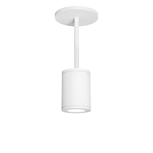 Tube Architectural  White 5-Inch LED Pendant with 3500K 85 CRI 36 Beam