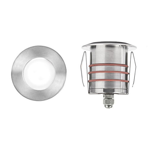 Stainless Steel Low Voltage LED Landscape Round Indicator Light