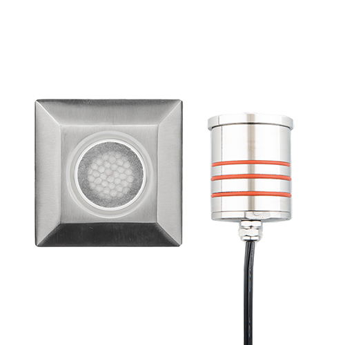 Stainless Steel Low Voltage LED Landscape Square Indicator Light with Honeycomb Louver