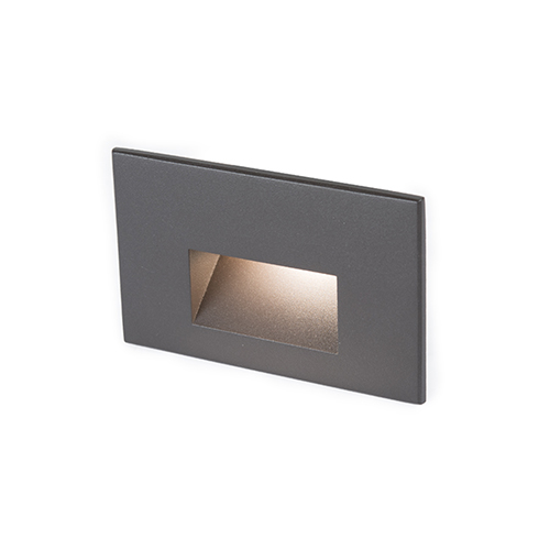 WAC Lighting Bronze LED Three-Inch Low Voltage Landscape Step and Wall Light, 3000 Kelvins