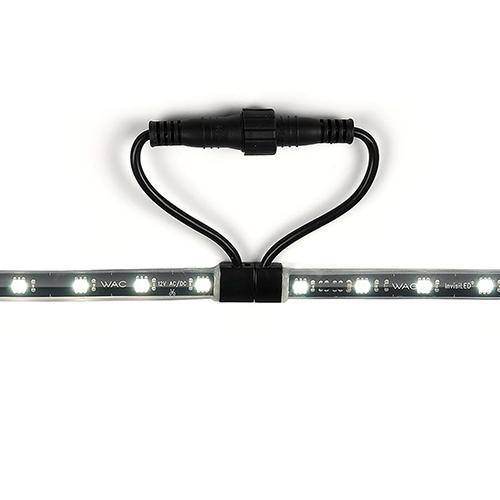 Black Low Voltage LED 60-Inch Landscape Strip Light, 3000 Kelvins