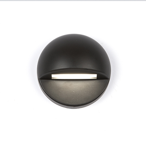 Bronze LED Three-Inch Low Voltage Landscape Deck and Patio Light, 3000 Kelvins