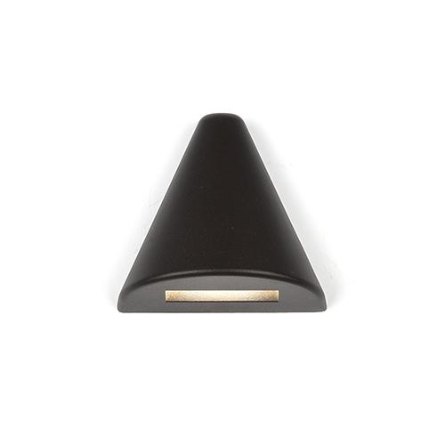 Bronze LED Triangle Low Voltage Landscape Deck and Patio Light, 2700 Kelvins