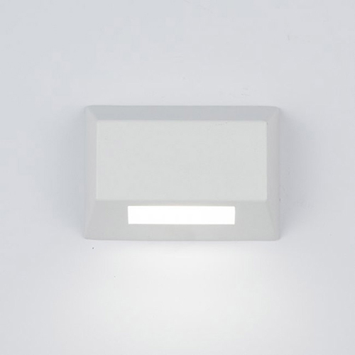 White LED Two-Inch Low Voltage Landscape Deck and Patio Light, 2700 Kelvins