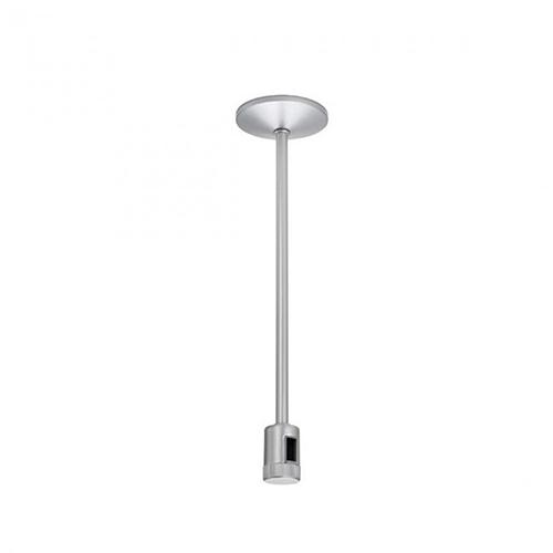 WAC Lighting Flexrail1 6-Inch Stem Power Connector - Platinum