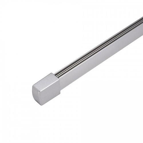 WAC Lighting Flexrail1 8 ft. Rail - Platinum