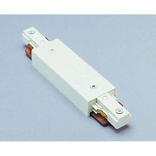 WAC Lighting Straight Line Power Connector HI-PWR - White