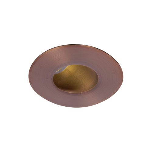 WAC Lighting Tesla Copper Bronze 2-Inch Pro LED 30-45 Degree Adjustable Trim with 40 Degree Beam, 3500K