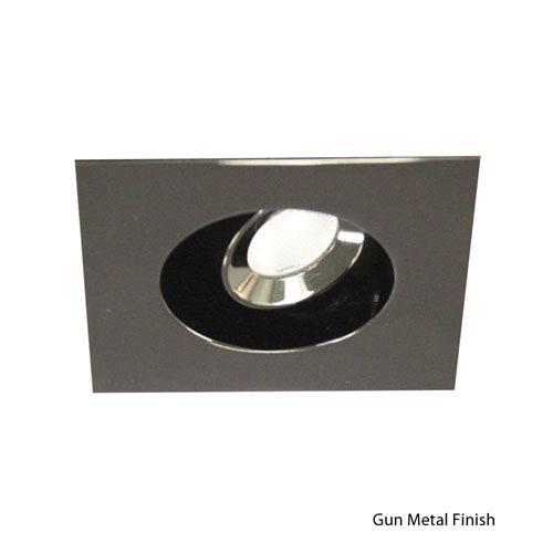 LEDme Gun Metal 0.63-Inch Square Trim Recessed Downlight