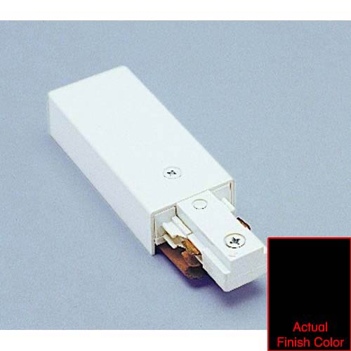 WAC Lighting Live End Connector J2-LE - Black