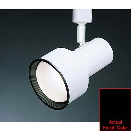 WAC Lighting Line Voltage Medium Step Track Head J703 - Black