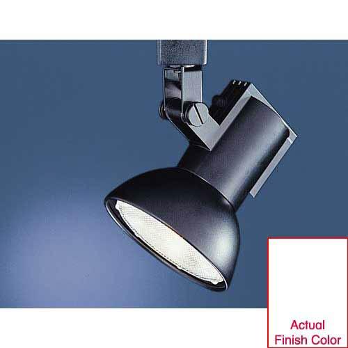 WAC Lighting Line Voltage Track Head J774 - White