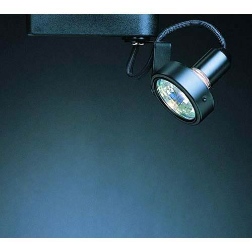 WAC Lighting Low Voltage Track Head L160L - Black