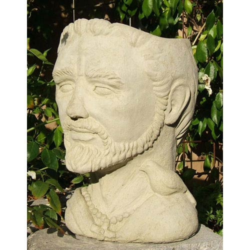 St. Francis Head Planter