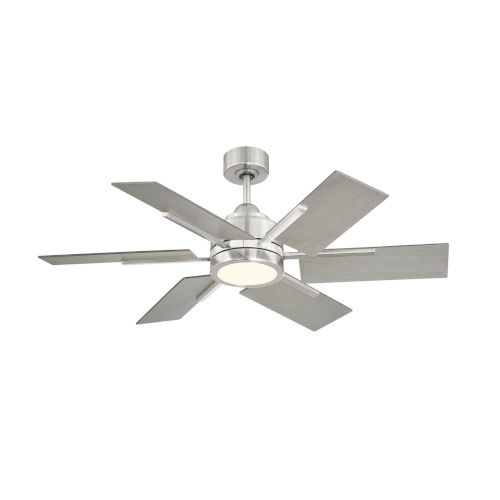 Farmhouse II Brushed Pewter 44-Inch LED Ceiling Fan