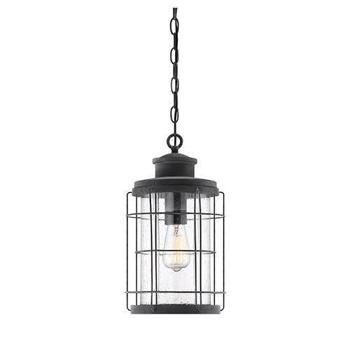 Fletcher Oxidized Black One-Light Outdoor Hanging Lantern