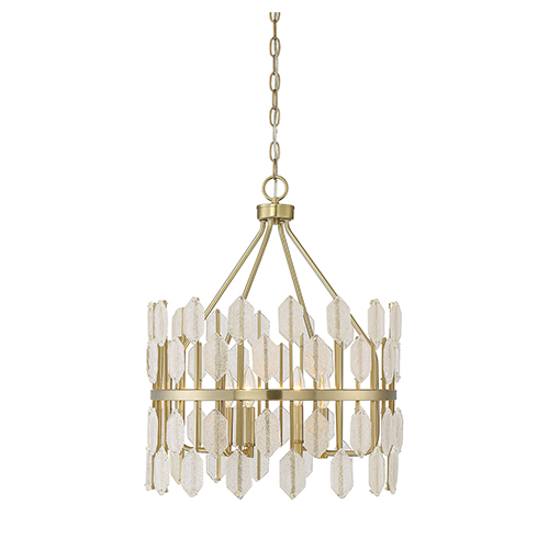 Royale Noble Brass Four-Light Pendant