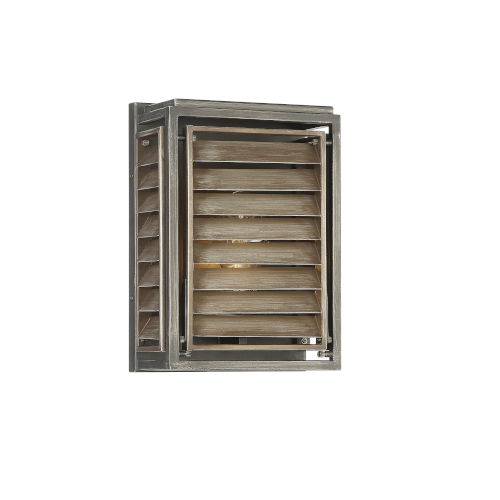 Hartberg Aged Driftwood One-Light Outdoor Wall Sconce