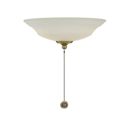 Wind Star Estate Brass Two-Light Fan Light Kit