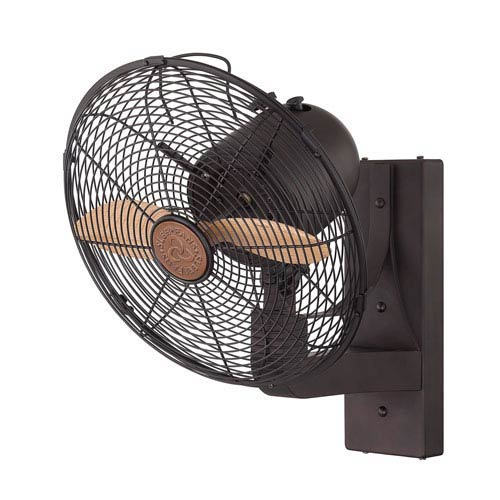 Skyy English Bronze Wall Fan