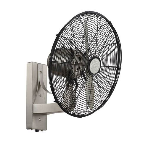 Skyy Satin Nickel Wall Fan
