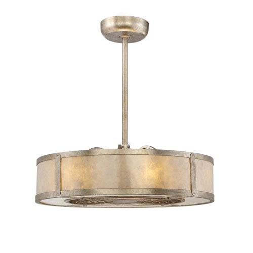 Vireo Silver Dust Six-Light Fluorescent Fan D-lier