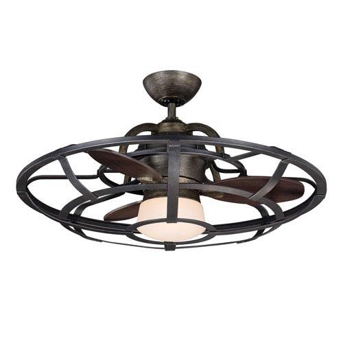Savoy House 26-Inch Alsace Fan d Lier Reclaimed Wood Ceiling Fan