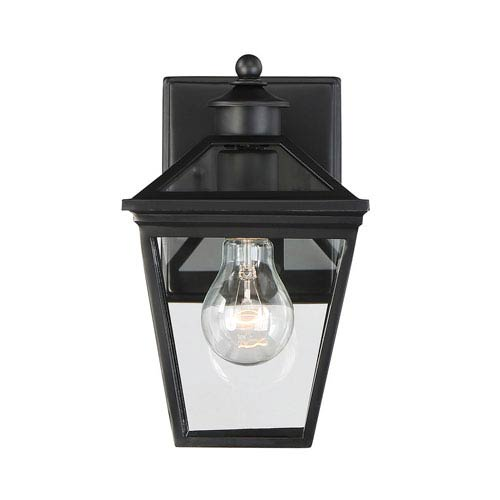 Savoy House Ellijay Black One-Light Outdoor Wall Sconce