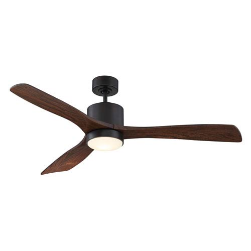 Amherst English Bronze 52-Inch One-Light LED Ceiling Fan