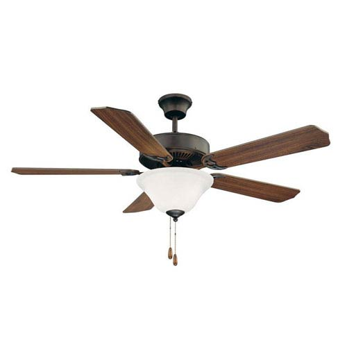 First Value English Bronze Ceiling Fan, 26-Inch