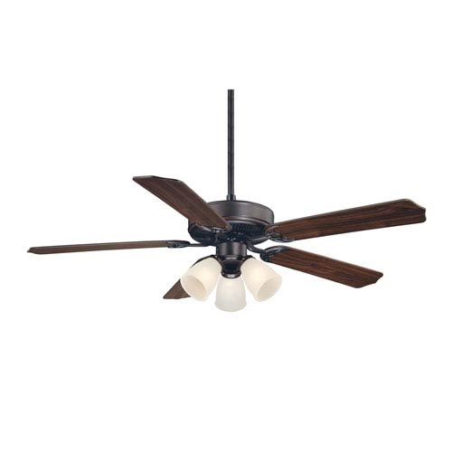 Savoy House First Value English Bronze Ceiling Fan, 18-Inch