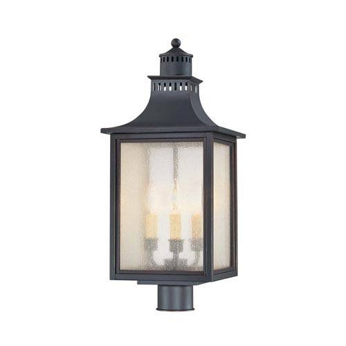 Monte Grande Slate Outdoor Post Lantern