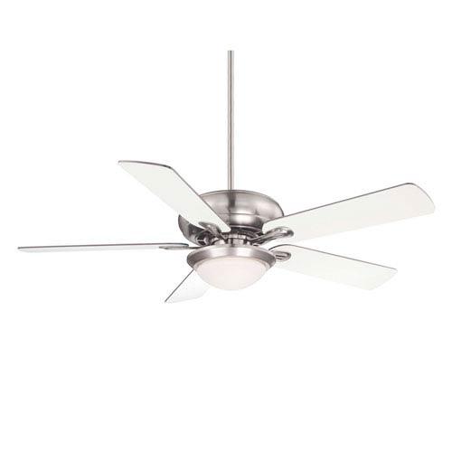 Sierra Madres Satin Nickel Ceiling Fan
