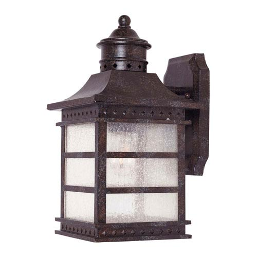 Seafarer Rustic Bronze One-Light Outdoor Wall Mount