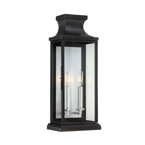 Traditional outdoor wall lighting free shipping bellacor brooke black two light wall lantern aloadofball Images